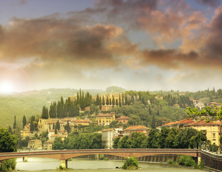 verona city hike and trek tour