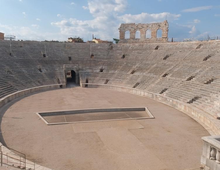 a place for propaganda the roman arena